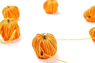 CraftMore Fall Yarn Pumpkin Garland 60