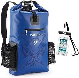 GGLLBL Bolso Impermeable del Caso seco 20L 40L 50L Mochila Flotante en seco con el teléfono for la Pesca Navegación Natación Kayak Surf (Capacity : 50L, Color : Blue)
