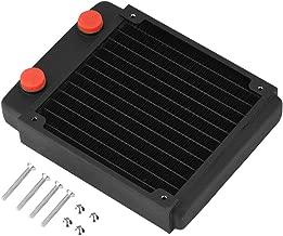 Richer-R Copper Radiator,Black Liquid Heat Exchanger Heat Sink Computer Water Cooling Kit With High Grade Copper Antioxidant Aurable (TSRP-BP120)