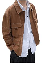 SayahMen Long Sleeve Autumn Oversized Single Breasted Western Shirt
