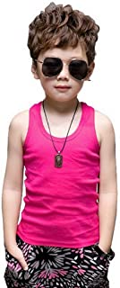 Xiang Ru Colorful Children Vest Sleeveless Racer Back Tank Top Summer Sling for Boys and Girls