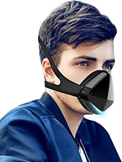 DUST ELECTRIC SMART MASK, Dust Mask,Air Purifier,Reusable Face Mask With Fan And 2 HEPA Filters,For Adult Masks With Polle...