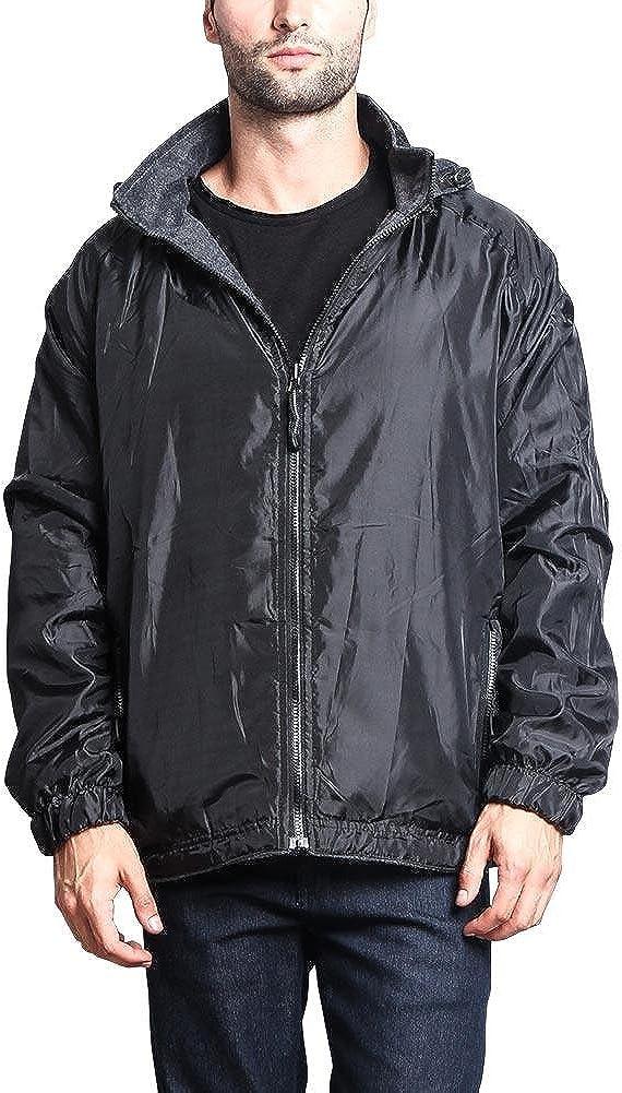G-Style USA Men's Waterproof Windbreaker Coach Jacket