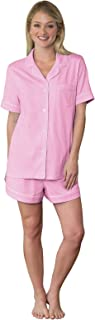 PajamaGram Womens Pajamas Soft Cotton - Pajama Shorts for Women