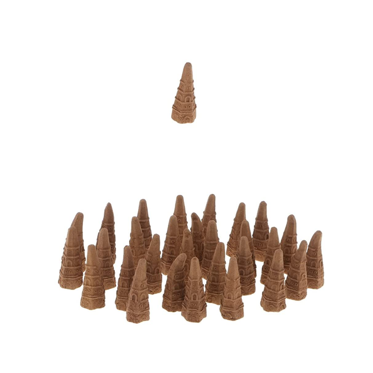 プロペラ歯矛盾Baosity 全2種選べる 逆流香り 仏教 サンダルウッド 茶道、家庭、オフィス、 - オーストラリアサンダルウッド