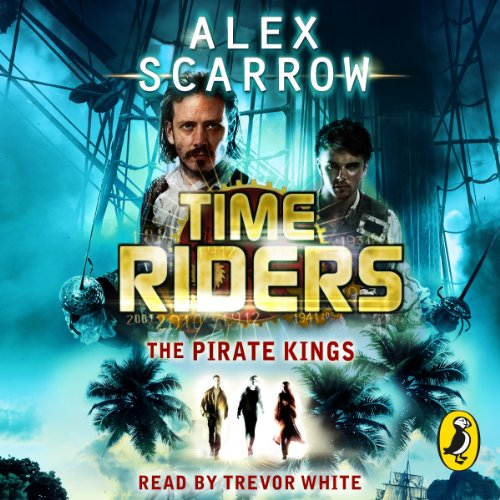 The Pirate Kings audiobook cover art