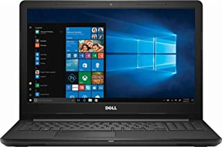 Dell Inspiron 3580 Laptop - Intel Core i5-8265U, 15.6-Inch, 2TB Harddisk, 8GB RAM, Eng-KB, Windows 10, Black