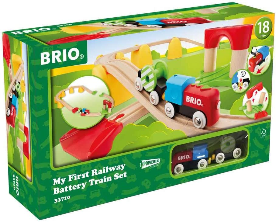 Brio World 33710 - 5% OFF price My First Railway Train Set Operated Battery