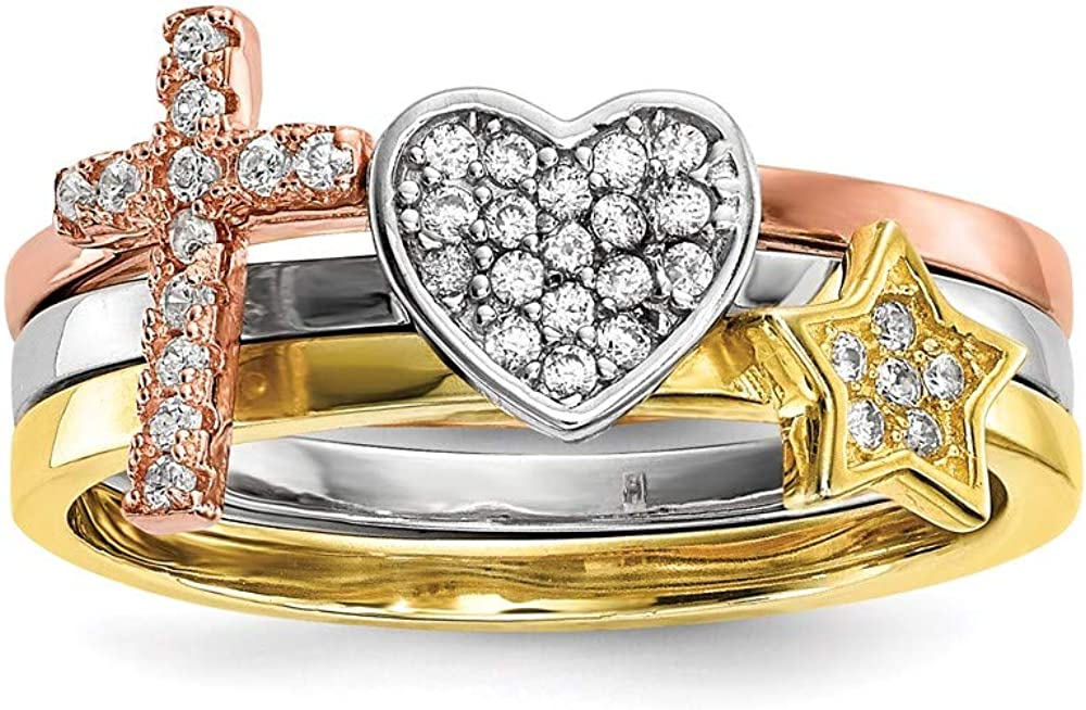 Ryan Jonathan Max 78% OFF Fine Jewelry Sterling Product and Gold St Silver Rose-Tone