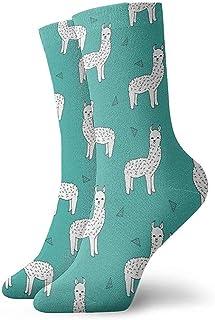Dydan Tne, Cute Llamas Baby Alpaca Dress Socks Calcetines Divertidos Crazy Socks Calcetines Casuales para niñas niños