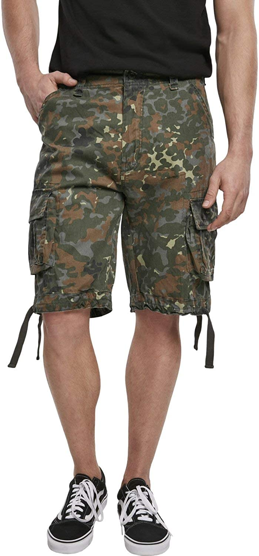 Brandit Men's Urban Legend Flecktarn Shorts Austin Mall 55% OFF