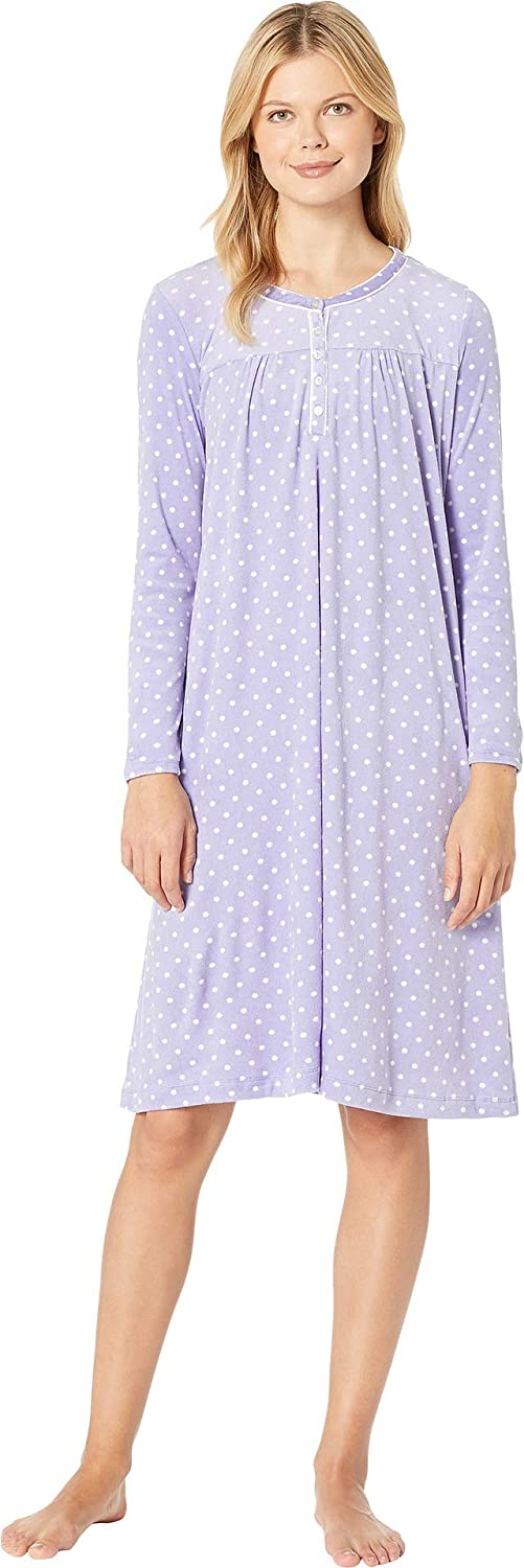 Carole Hochman Women's Luxe Cozy Fleece Waltz Gown