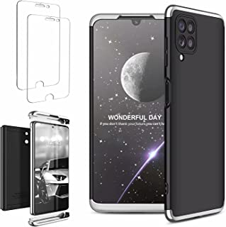 Ttianfa Case Cover for Xiaomi Poco F2 Pro case【2】Tempered screen Protector,3 in 1 360°Protectiv Shockproof Durable Ultra T...