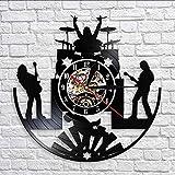 zgfeng Reloj de Pared de Grupo de música de Banda de Rock,