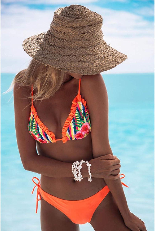 KMCC Bikini Bademode Frauen Badeanzug Halter Push Up Anzug Bikini Set