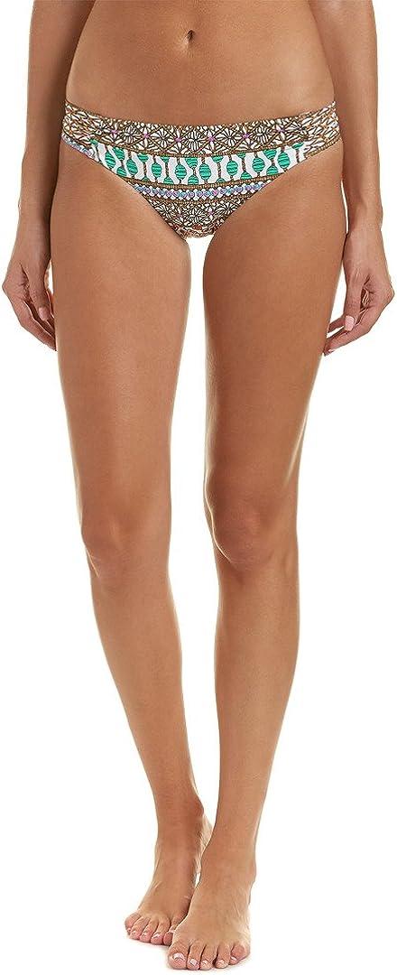 Trina Turk Women's Standard Side Tab Hipster Bikini Swimsuit Bottom