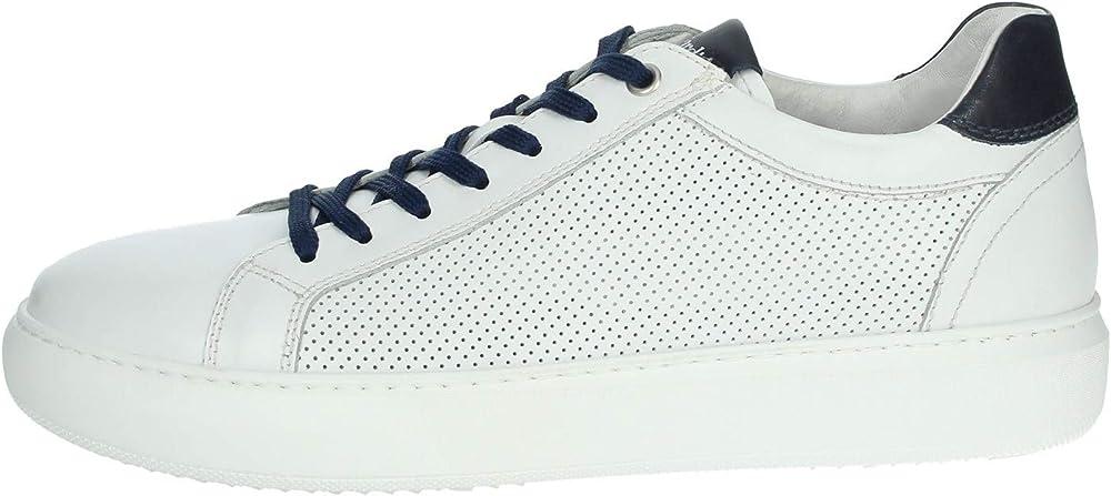 Nero giardini,sneakers per uomo ,in pelle E001551U/707