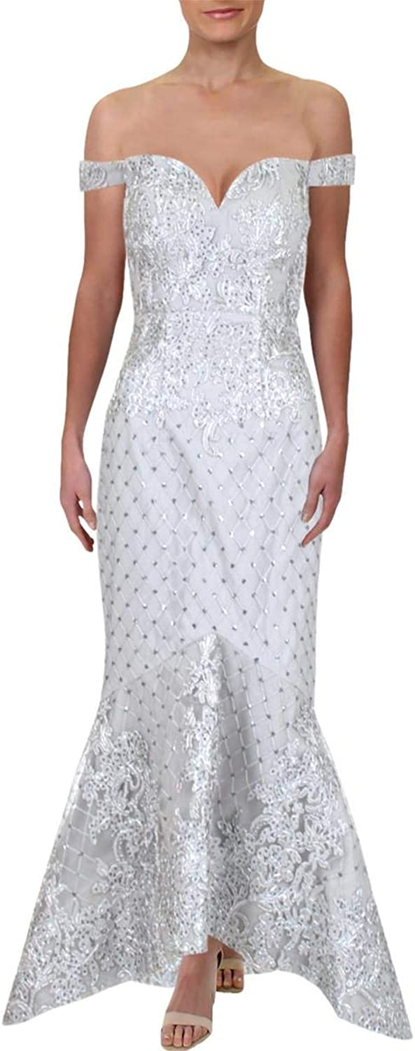 Bariano Womens Formal Special Occasion Evening Dress