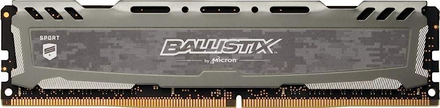 Crucial Ballistix Sport LT 3000 MHz DDR4 DRAM Desktop Gaming Memory Single 8GB CL16 BLS8G4D30BESBK (Gray)