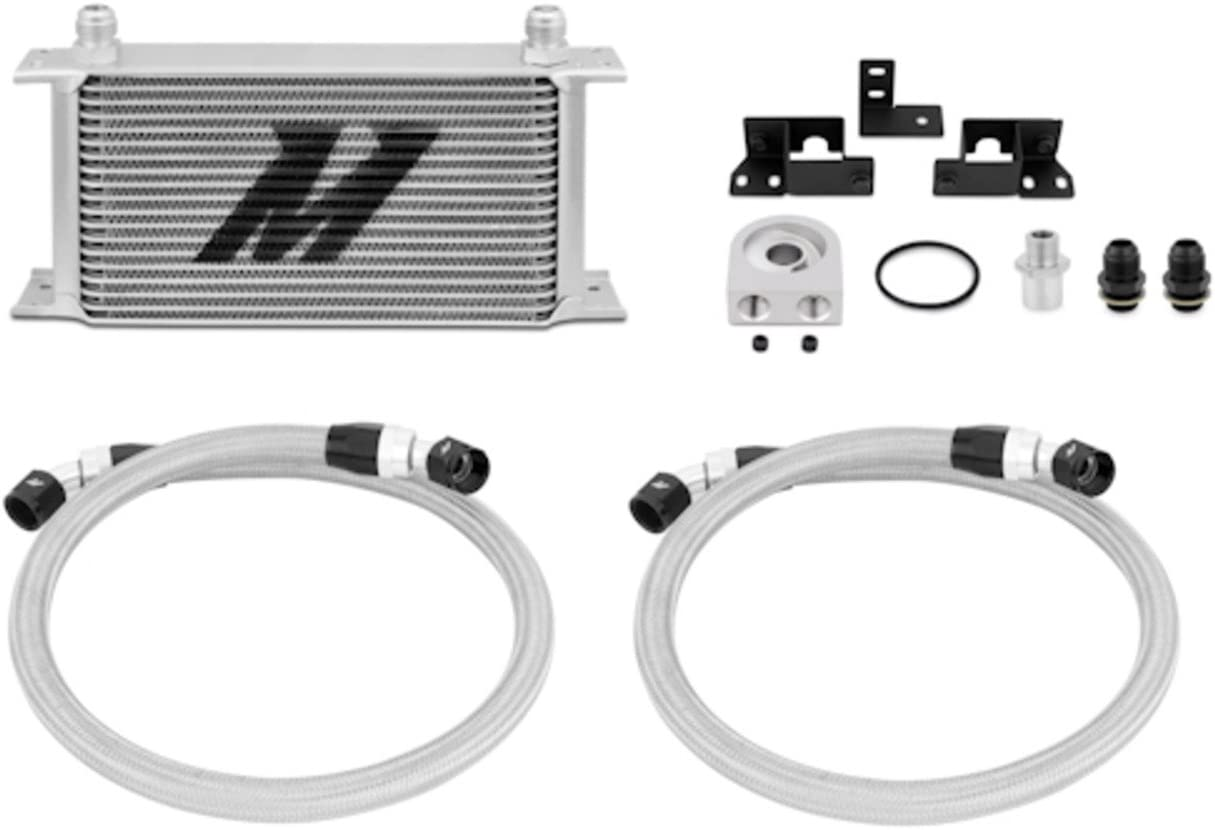 Mishimoto MMOC-WRA-07 Oil Cooler Cheap SALE Start Kit Compatible With Jeep High material Wrangl