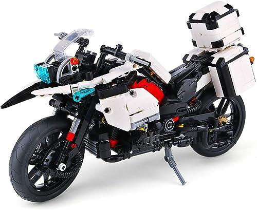 gran venta Llsdls Juguetes para Niños Bloques de construcción construcción construcción Aston Bond Martin 007 Modelo de Motocicleta de conducción Compatible con el ensamblaje de música Bloques de construcción Juguetes  Esperando por ti