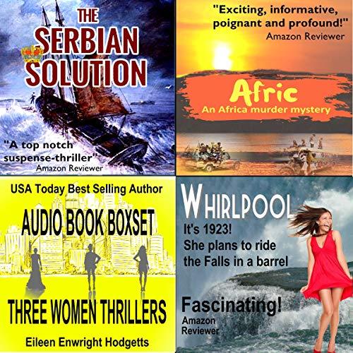 Three Women Thrillers audiobook cover art