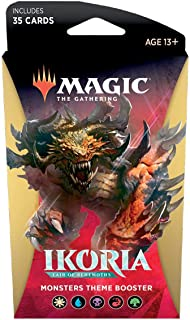 Magic The Gathering: Magic The Gathering: Ikoria: Lair of Behemoths - Theme Pack - Monsters (35 Cards)
