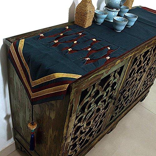 Linge de table Tissus de table Couleurs de tabledrap de table drap de coton et de linge créatif personnalité tassel (30 * 200cm) , 1 , 30*200cm