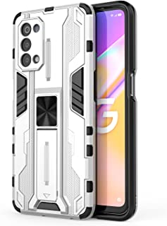 BAIDIYU Case for Oppo A95 5G Phone case, Shock absorption, bracket, drop resistance, TPU + PC double-layer design, suitabl...