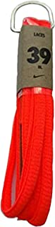 Nike Unisex Replacement Shoelaces Oval Cords Laces 39 Fluor Coral