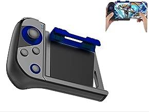 SUNSEATON Controlador de Teléfono Móvil Inalámbrico PUBG, Controlador Inalámbrico de Una Mano, Palanca de Juego Móvil, Disparador deJuego, Compatible para iPhone y Teléfono Inteligente
