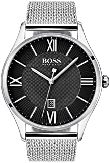 Hugo Boss 1513601 Governor Men's Watch Silver 44mm Stainless Steel