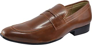 Vonzo Men's Business Slip-on Dress Shoes Semi-Formal Oxford