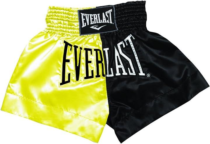 Pantaloncini da thai boxe everlast em7 da uomo