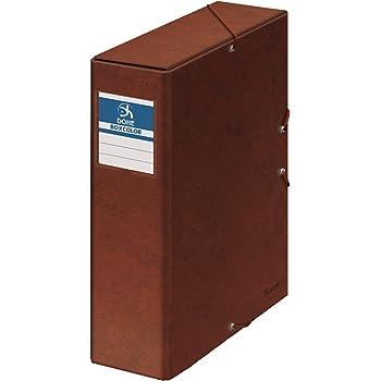 Dohe 9574 - Caja proyectos lomo, 9 cm, cuero: Amazon.es: Oficina y ...