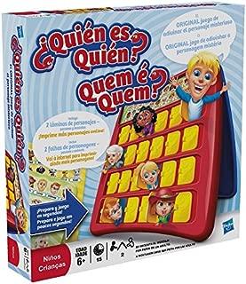 Hasbro Gaming- Gaming Clasico Games - Quien es quien (Hasbro 05801175), Miscelanea (