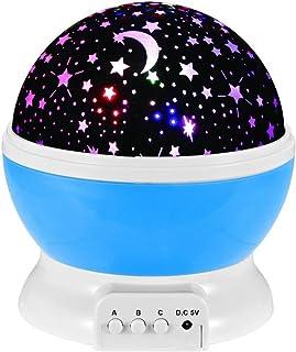 NYKKOLA Veilleuse colorée à 360 ° pour enfants, femmes enceintes, éclairage d'humeur des yeux [Classe énergétique A+++]