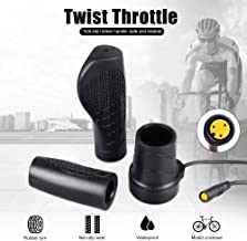 Greenergia Electric Bike Half and Full Twist Throttle Right&Left ThumbThrottle Speed Controller for Ebike and Scooter