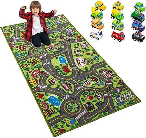 Playmat City Life Carpet Playmat w Cars Kids product image