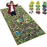 Playmat City Life Carpet Playmat w/Cars Kids