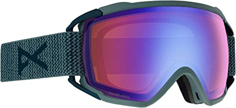 Anon Circuit Asian Fit Goggle, Blue Frame Sonar Lens