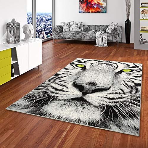 Carat - Alfombra de diseño - Tigre Blanco - 3 tamaños