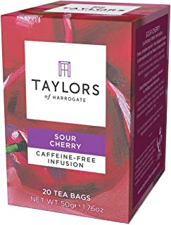 Taylors of Harrogate Sour Cherry Infusion, 20 Teabags