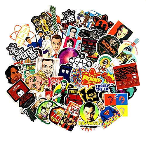 LMY American Tv Series Big Cartoon Stickers Bang Theory Personalizado Pvc Impermeable...
