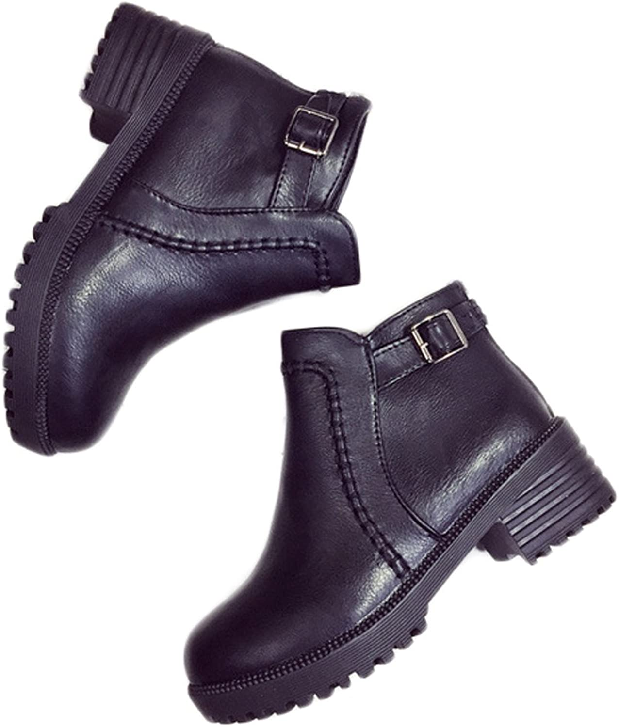 New Year Women's Classic Winter Snow Martin Boot Mid-heel Pull-on Type Retro Style