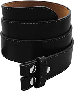 Sosano Real Cow Leather Belt Straps Collection with Western Belts - Solid Leather (Various Styles/Plus Size Available)