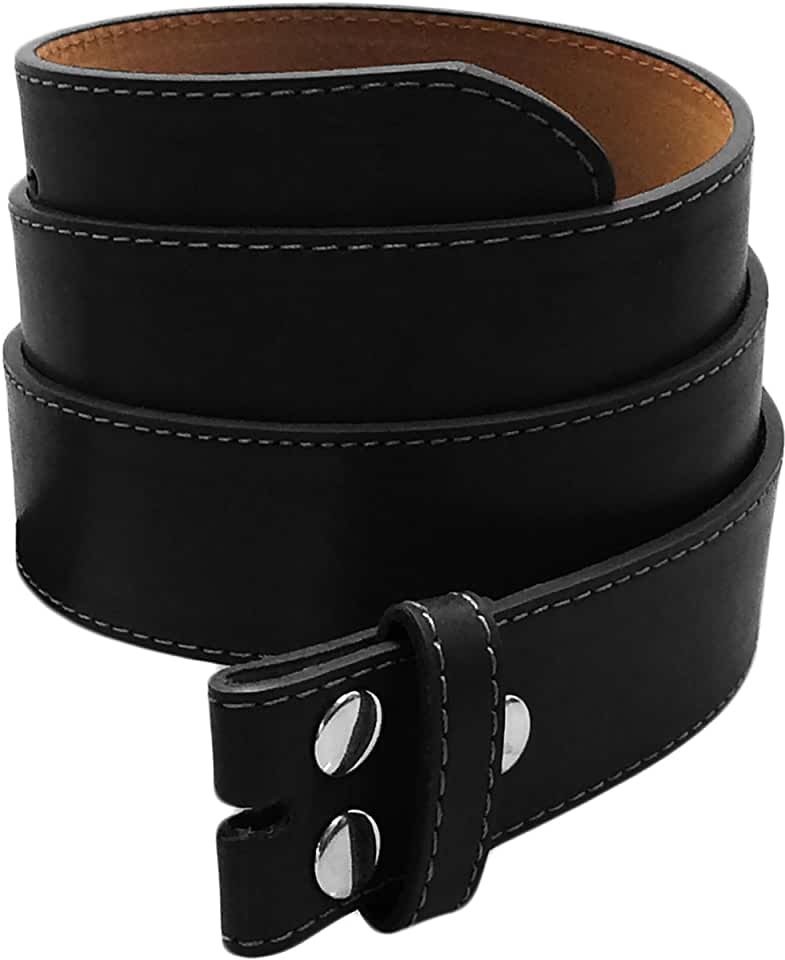 Luna Sosano Real Cow Leather Belt Straps Collection with Western Belts - Solid Leather (Various Styles/Plus Size Available)