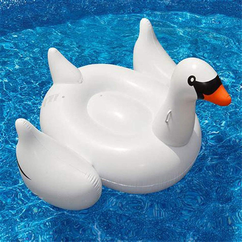 tienda hace compras y ventas Gverdeary Gigante Gigante Gigante Inflable Flamingo 60 Pulgadas Unicornio Piscina Flotadores Tubo Balsa Anillo de Natación Círculo Cama de Agua Adultos Juguetes de Fiesta ( Color   blanco Swan )  descuentos y mas