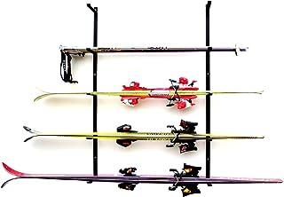 Estantería para esquís de alta calidad, 5 niveles.