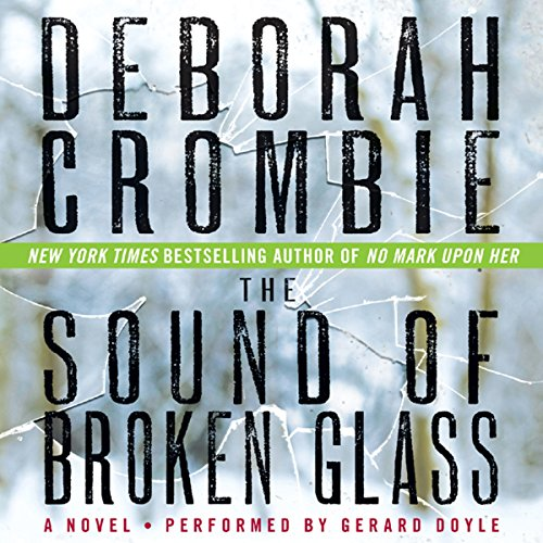 The Sound of Broken Glass audiobook cover art